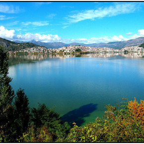 Касторья.озеро Орестиада