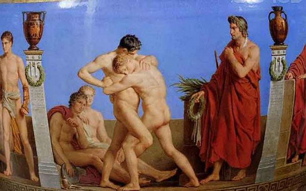 Спартанское воспитание в Греции