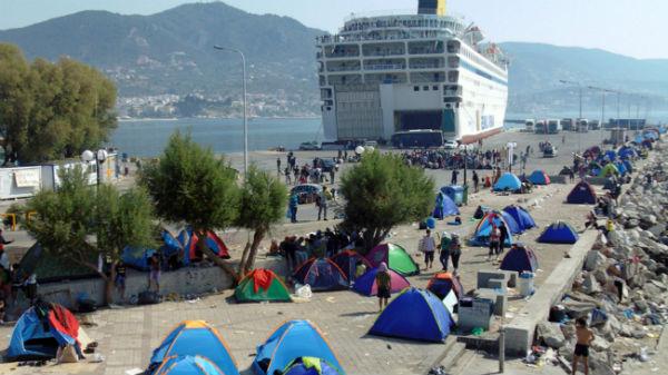 мигранты в греции
