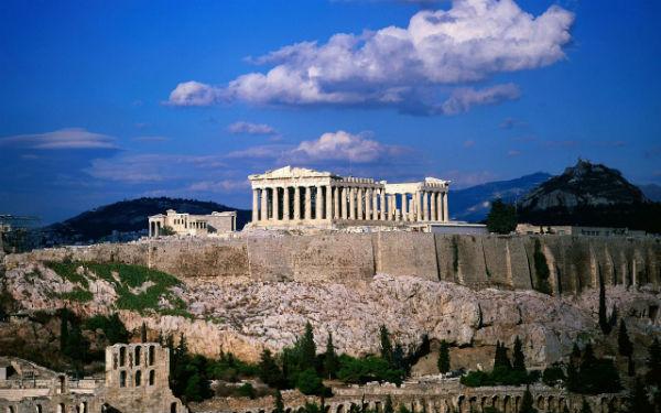 Афинский Акрополь 1