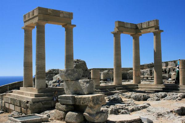 Акрополь Линдос 2