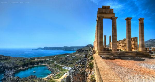 Акрополь Линдос 3