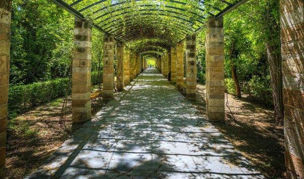сады в Греции