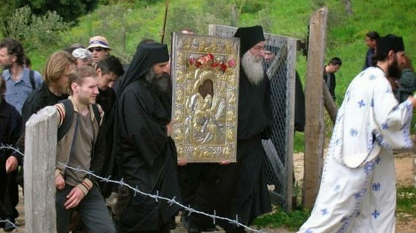 Празднование Пасхи на Афоне
