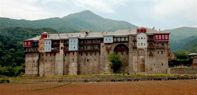 Монастырь монахов Иверона