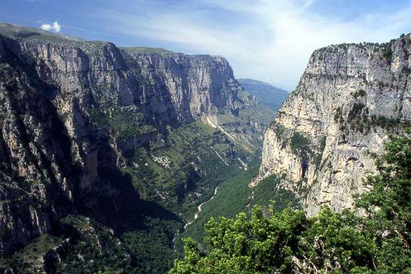 Ущелье Викос. Греция