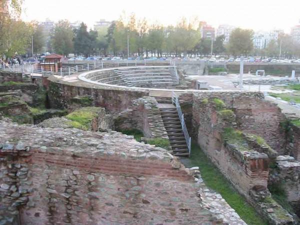 Салоники. Римская Агора