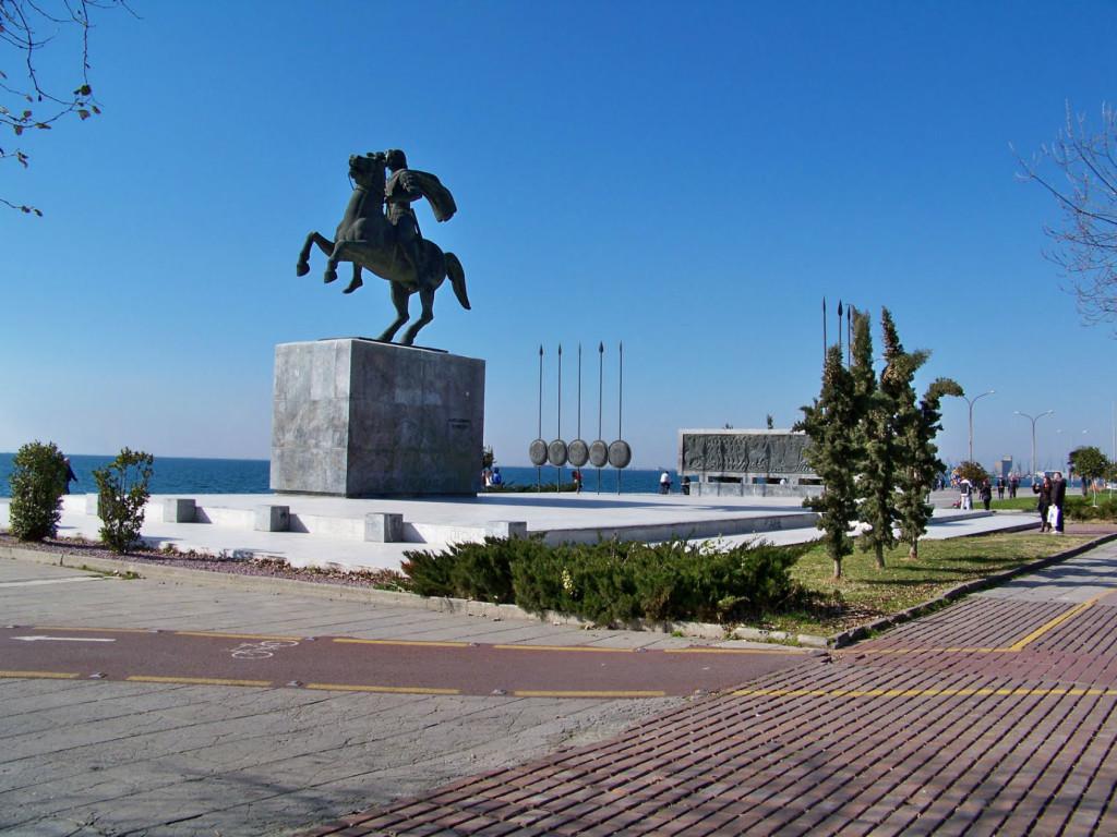 Памятник Александр Македонский