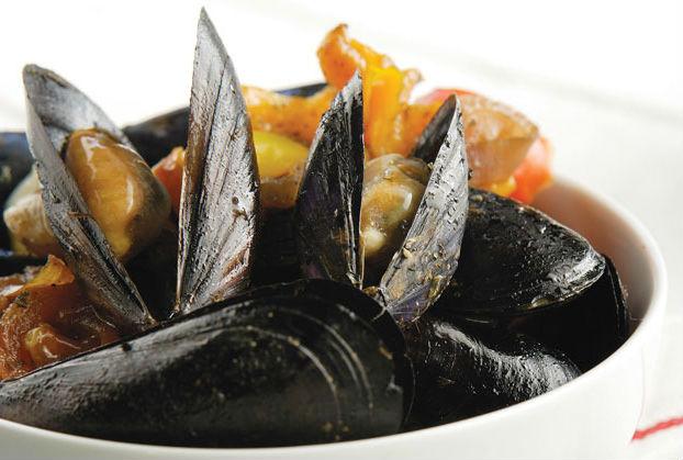 морепродукты в Греции