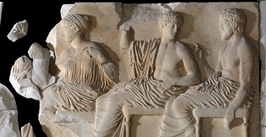 Статуи Аполлона и Артемиды