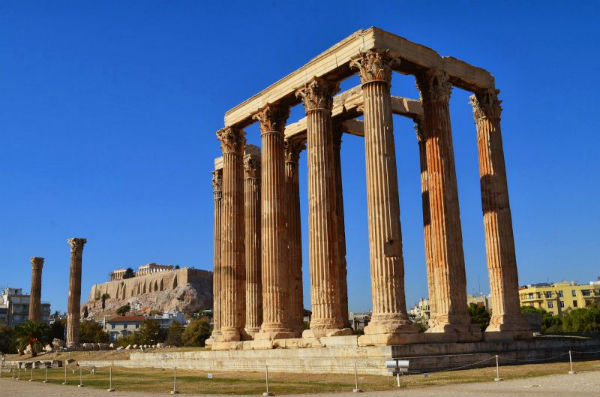 Составляющие части в архитектуре древнегреческого храма