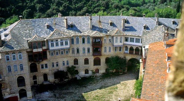 Хиландарский монастырь 6
