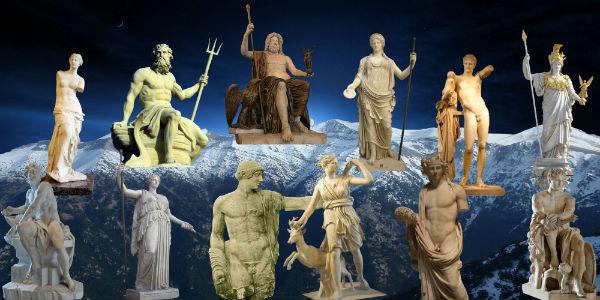 боги греции фото