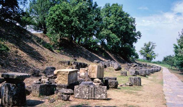 Эги, Древняя Македония